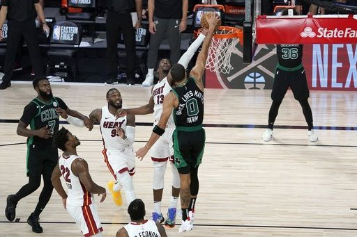And like This, bam, Celtics Filled by Heat in Game 1